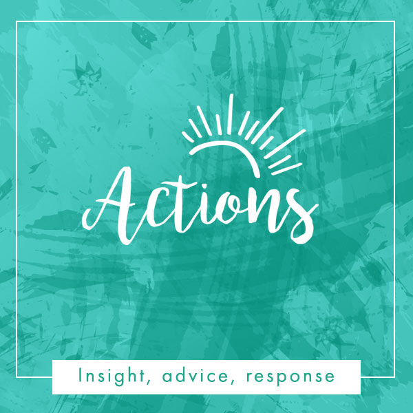 actions, advice, response
