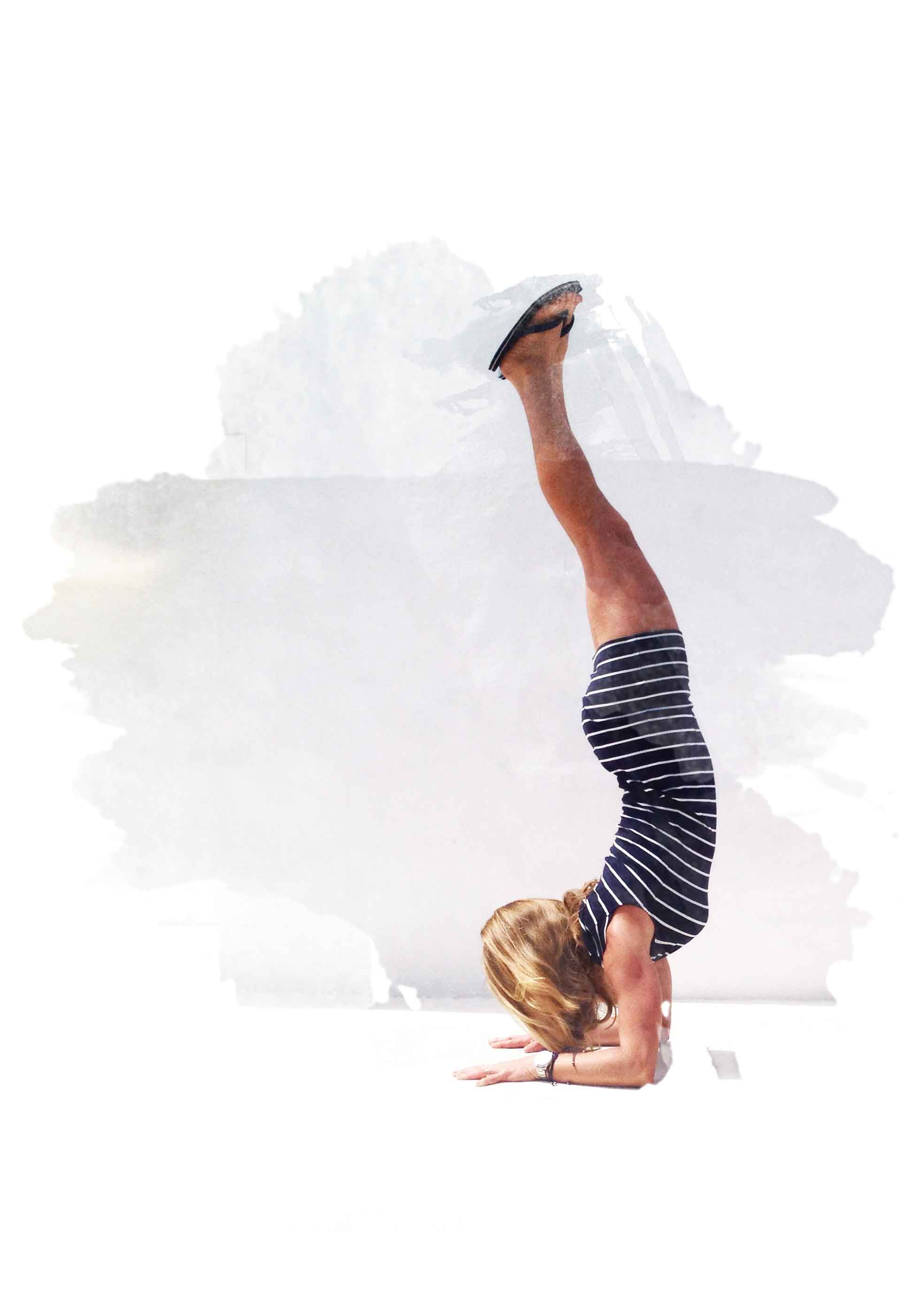 handstand inner peace